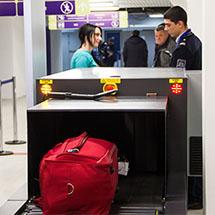 Досмотр багажа, посылок, грузов