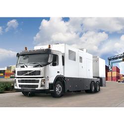 NUCTECH MT1213LH Мобильный инспекционно-досмотровый комплекс (МИДК) для бесконтактного досмотра контейнеров/грузовиков