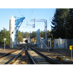 NUCTECH RF9010 Инспекционно-досмотровый комплекс (ИДК) для бесконтактного досмотра грузов в вагонах железнодорожных составов